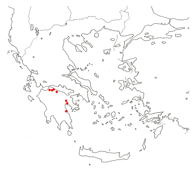 C. peloponessiacum map